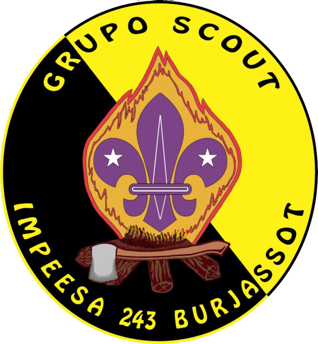 Logo Grupo Scout Impeesa 243 de Burjassot