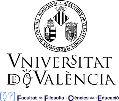 Logo Facultad de Filosofía y Ciencias de la Educación de la Universidad de València